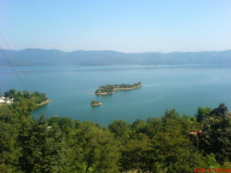 Gobind Sagar Lake Himachal Pradesh