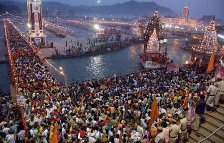 Kumbh Mela Snan & Haridwar Tour Package