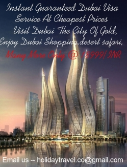 Dubai Package with Visa