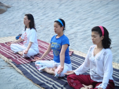 Yoga & meditation in Rishikesh