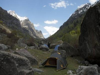 Solang Valley - Paragliding - Solang Valley-Marhi Trek, Manali Trekking
