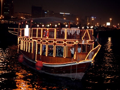 Dubai Dhow Cruise Dinner Tour - Creek