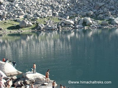 7 Mountain Lake Tour of  Indian Himalayas -Lam Dal, Nag Dal Chanderkoop Lakes-Camping and Trekking