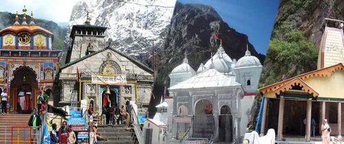 Golden Triangle with Holy Char Dham
