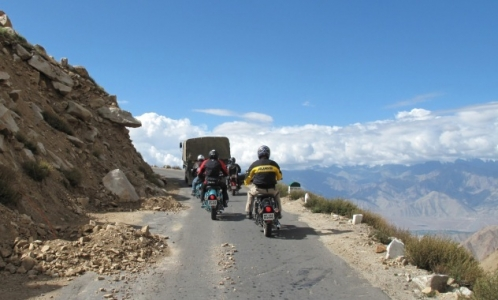Manali to Leh Bike Trip 2017 2018- Himalayan Motorcycle Adventures