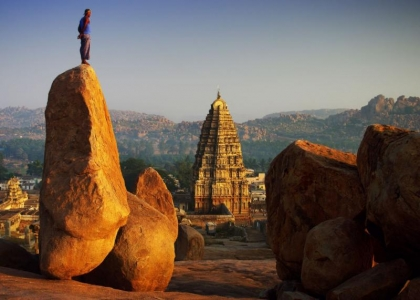 Real Heritage of India - Hampi Rock Climbing Adventure Package