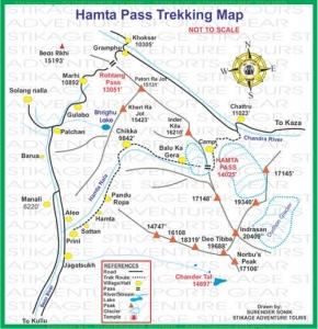 Hamta Pass Trekking, Manali-Hamta Pass Trekking, Manali Trekking