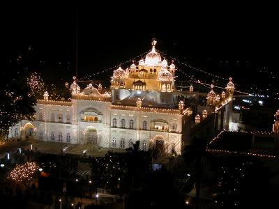 Takht Sri Anandpur Sahib with Kiratpur Sahib and Fatehgarh Sahib Tour Package