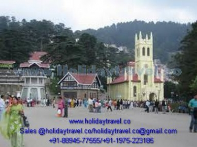 Delhi to Shimla Family Taxi Service and Shimla taxi booking