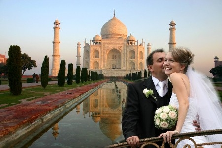Agra honeymoon