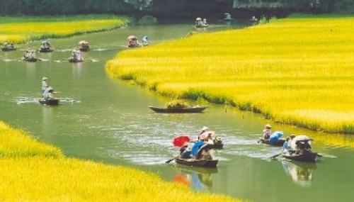 Hanoi – Ninh Binh Sampan Trip from India