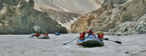 Leh River Rafting Package - extended weekend package for young professionals & corporates