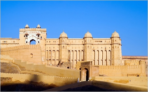 Forts and Palaces Tour of Rajasthan with Camel Riding and Desert Camping- Amber Fort -Mehrangarh Fort -City Palace