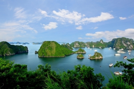 The most scenic - Halong Bay Vietnam tour package