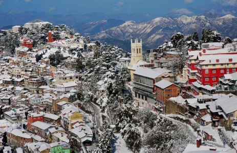 Shimla Tour Package with Kasauli and Parwanoo – Blissful Land of Himachal Pradesh