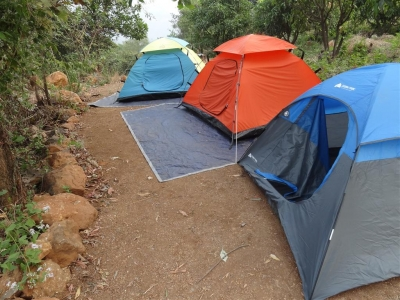 Camping in Khopoli near Mumbai
