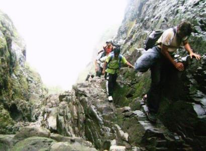 Adventure trekking near Mumbai