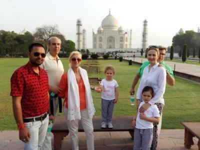 Agra Family Tour