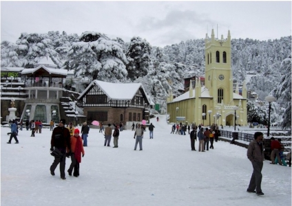 Shimla Manali Tour Package from Indore Bhopal Jabalpur MP