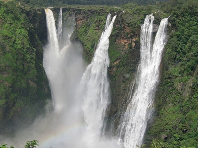 Shimoga with Jog and Kunchikal falls - Holiday in Hill Station of Majestic falls India