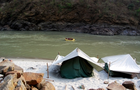Adventurous trip of Rishikesh, Haridwar & Mussoorie for Camping and Rafting - Students/corporate/Individual Group Tour Package