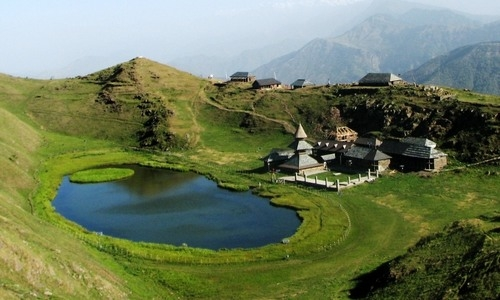 Prashar Lake - High Lands of Eternal Beauty