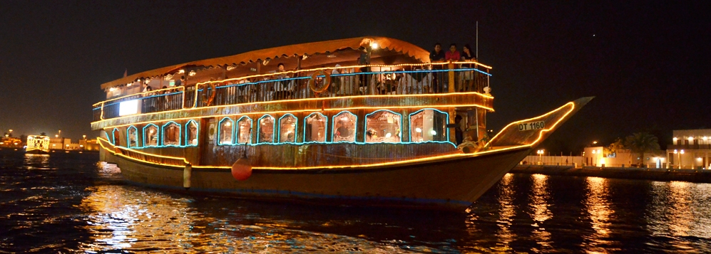 Dubai Dhow Cruise with Dinner Package