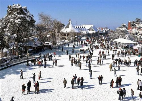 Mall Road Shimla Tourist Hotel Food Guide