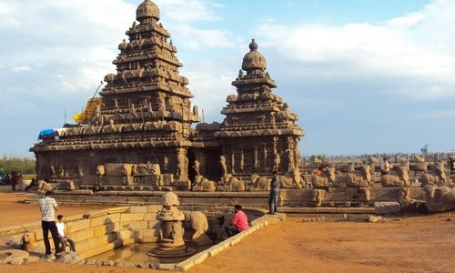 Mahabalipuram Tourist Guide - The Monolithic  Rock temples Wonder In World