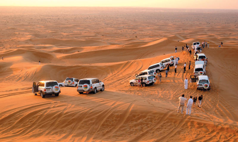 Dubai Platinum Luxury Private Desert Safari