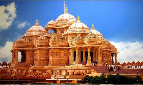 Akshardham Temple Delhi Tourist  Guide