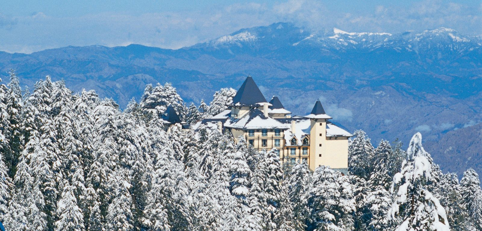 wildflower hall at snow