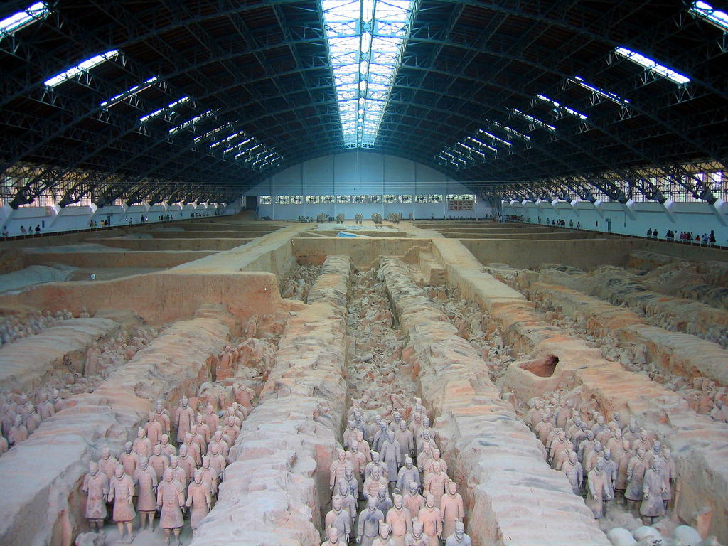 2000 year old Terracotta Warriors