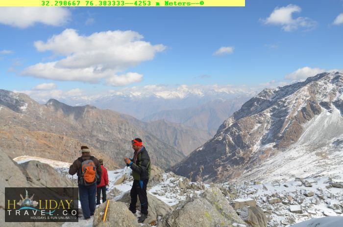 At4252Meters-DescentFrom-IndraharPass-TeamMakingStreategy-To-Navigate-Slippery-Descent