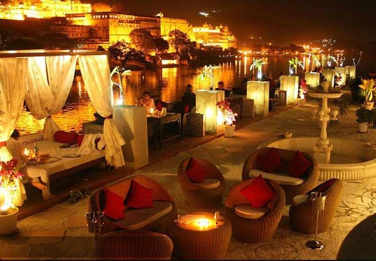 5 romantic restaurants in Udaipur
