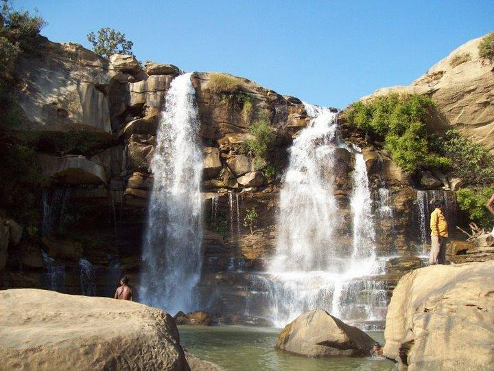Amrit Dhara waterfalls