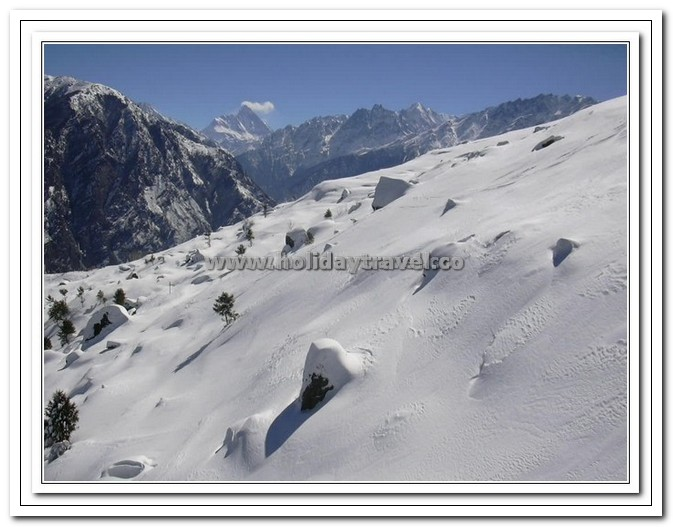 Auli - Virgin Ski Slopes - Breathtaking Beauty