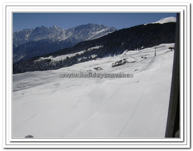 Auli - Ice - Snow - Forest - Mountain