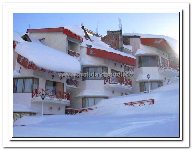 Auli - Cliff Club Hotel - One of the best & only staying Hotel on Roof of the world