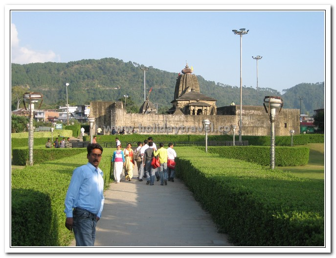 Distant View of Baijnath Temple - Himachal - The eternal Beauty
