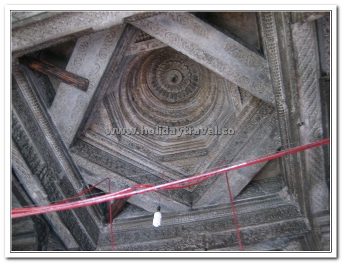 Interior Architecture of Baijnath Shiva temple Himachal