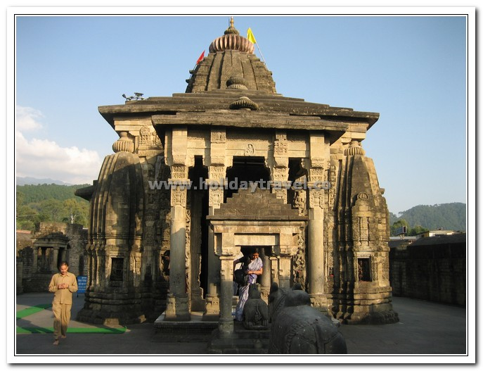 Impressive Front View of baijnath Shiva Temple Himachal