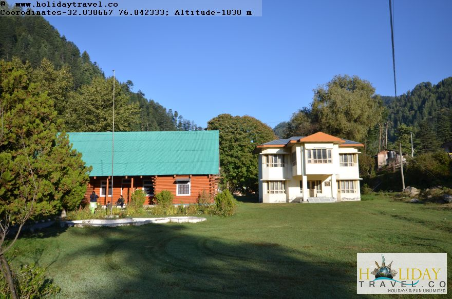 Barot-Himachal-PWDGuestHouse-NewOne constructed-Having-4 BedRooms