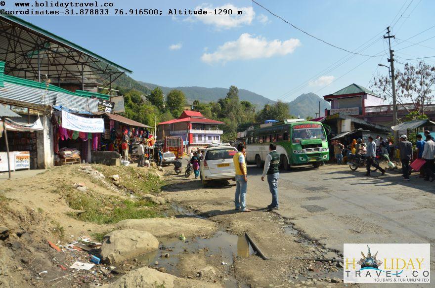 Barot-Mandi-NewRoute-Reached-Padhar-Town