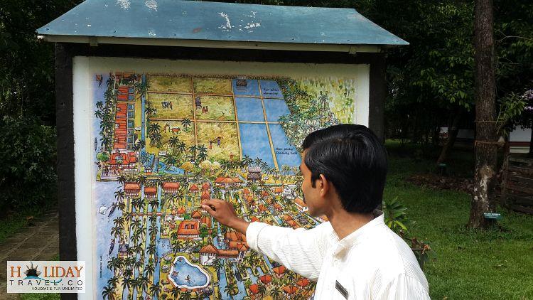 Coconut-Lagoon-Map-Kumarakom-Displayed-By-Staff