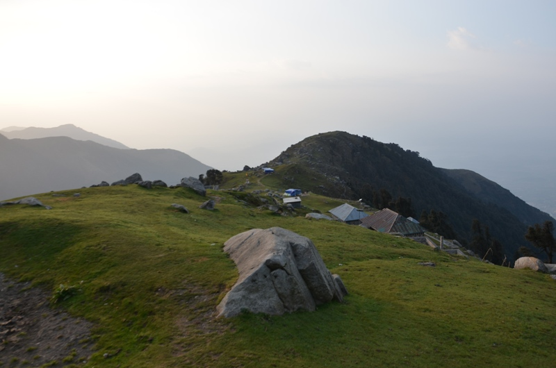 On the Triund Hill