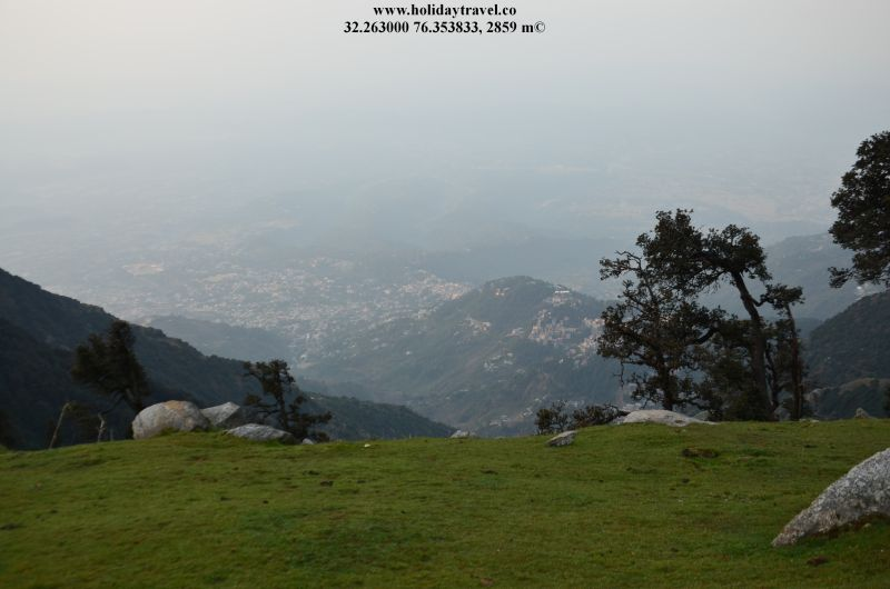 View of Mcleodganj From Triund Hill