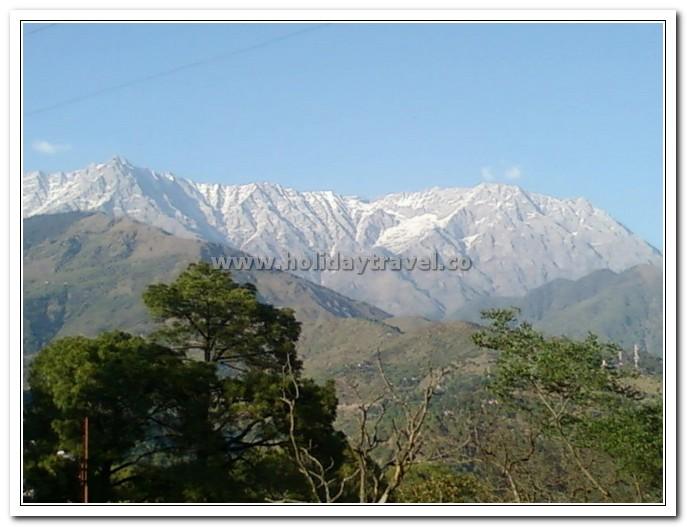 Dhauladhar Ranges in Dharamshala
