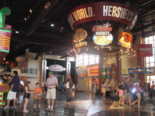 Hershey's Great Chocolate Factory Mystery in 4D