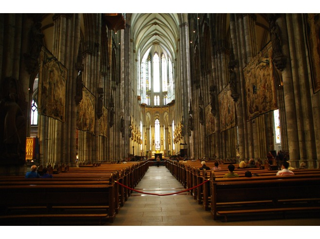 Historical Cologne Cathedral